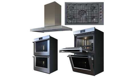 Kitchen appliance set 01