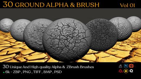 30 Ground Alpha & BRUSH VOL 01