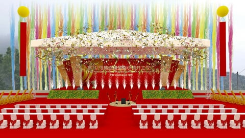 3DS Max 2014 Stage Concert 42