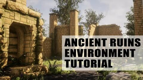 Ancient Ruins Game Environment Creation