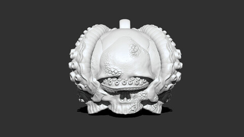 Skull Kraken Pendant