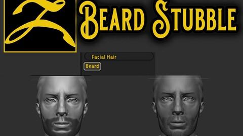 Beard Stubble for Zbrush