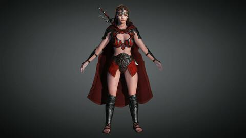 Fantasy Female Character 11