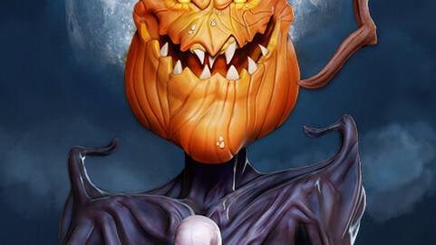 Pumpkin King Halloween Special 3D print model