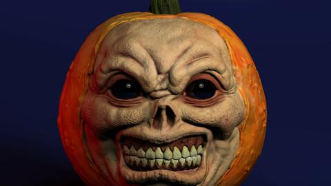 Halloween Pumpkin for  3D printing