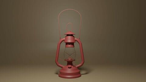 Cartoon Retro Kerosene Lamp