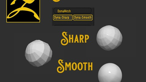 Dynatopo  -  Sharp and Smooth