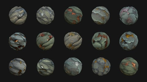 Pack Stylized Texture 7