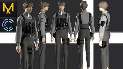 New concept Marvelous Clo3D Outfit Female