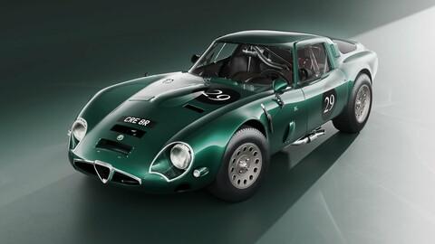 Alfa Romeo Giulia TZ2 carrozzata zagato 1965