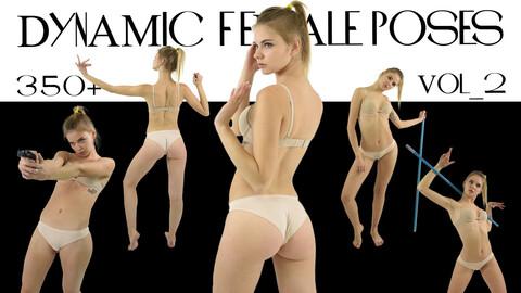 DYNAMIC FEMALE POSES Vol_2