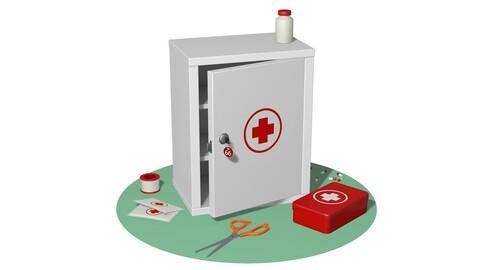 Medical set first aid kit