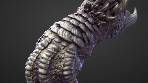 ARM27 high poly sculpt
