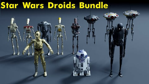 10+ Star Wars Droids bundle