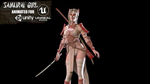 Samurai Girl Game ready