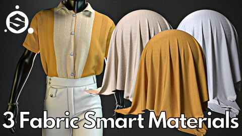 3 Fabric smart material : Vintage outfit No.1