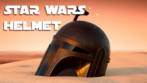 Star Wars Helmet | .blend .fbx .obj
