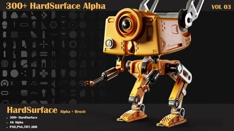 300 HardSurface Alpha-VOL 03
