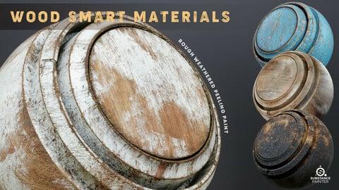 Wood Smart Materials