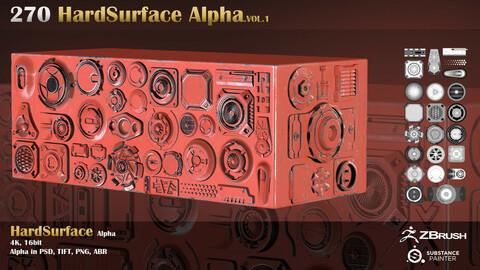 Hard Surface Alpha.Vol 1
