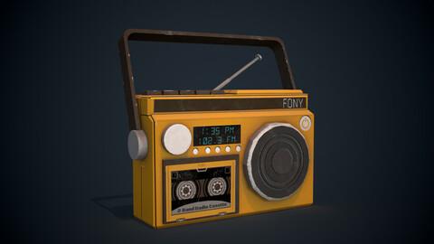 Radio - 3D Prop