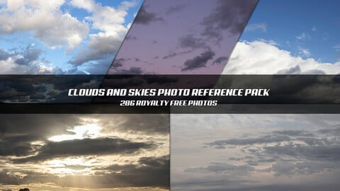 Clouds and Skies Photo Reference Pack