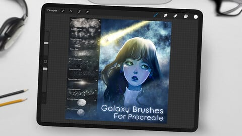 Galaxy Brushpack for Procreate