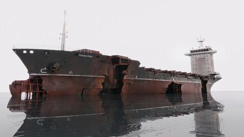 Shipwreck Container Feeder