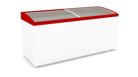 3D market refrigerator model