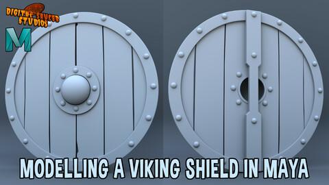 Modelling a Viking Shield in Maya