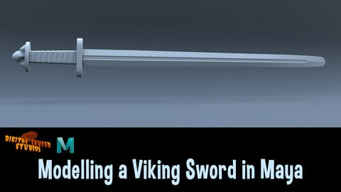 Modelling a Viking Sword in Maya