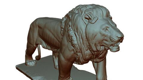 LION STATUE (STL)