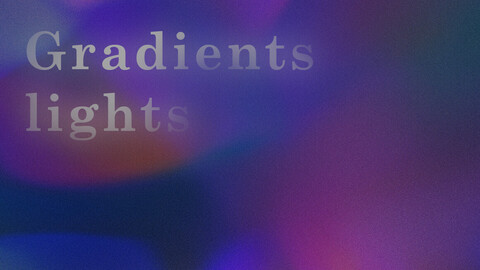 Gradients lights - 12 backgrounds
