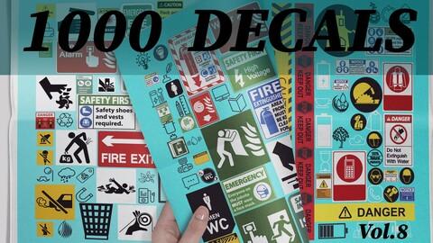 1000 Decals vol.8