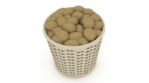 basket potato market sale model