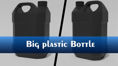 Big plastic bottle (subdivision ready)