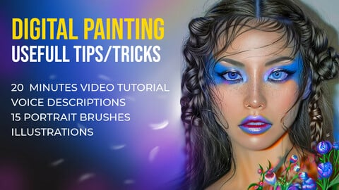 Digital Painting in Photoshop Usefull Tips/Tricks