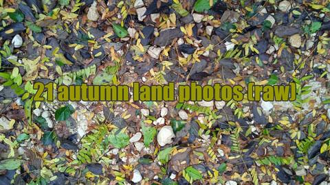 21 autumn land photos (raw)