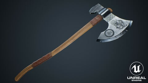 Viking Weapons - Large Axe II