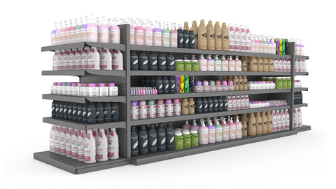 cosmetic product market stand 10