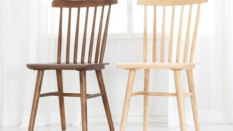 Wood line chair