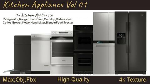 14 Kitchen Appliance Vol 1