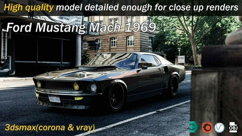 Ford Mustang Mach 1969