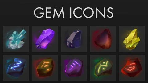 Gem Icons Pack