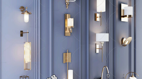 Wall light collection 04