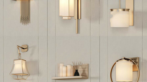 Wall light collection 10