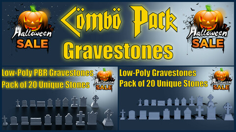 Grave Stone Combo Pack