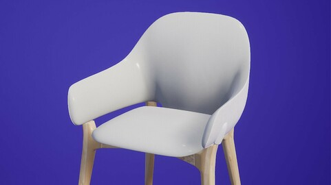 Chair Liv Mariani low poly VR ready