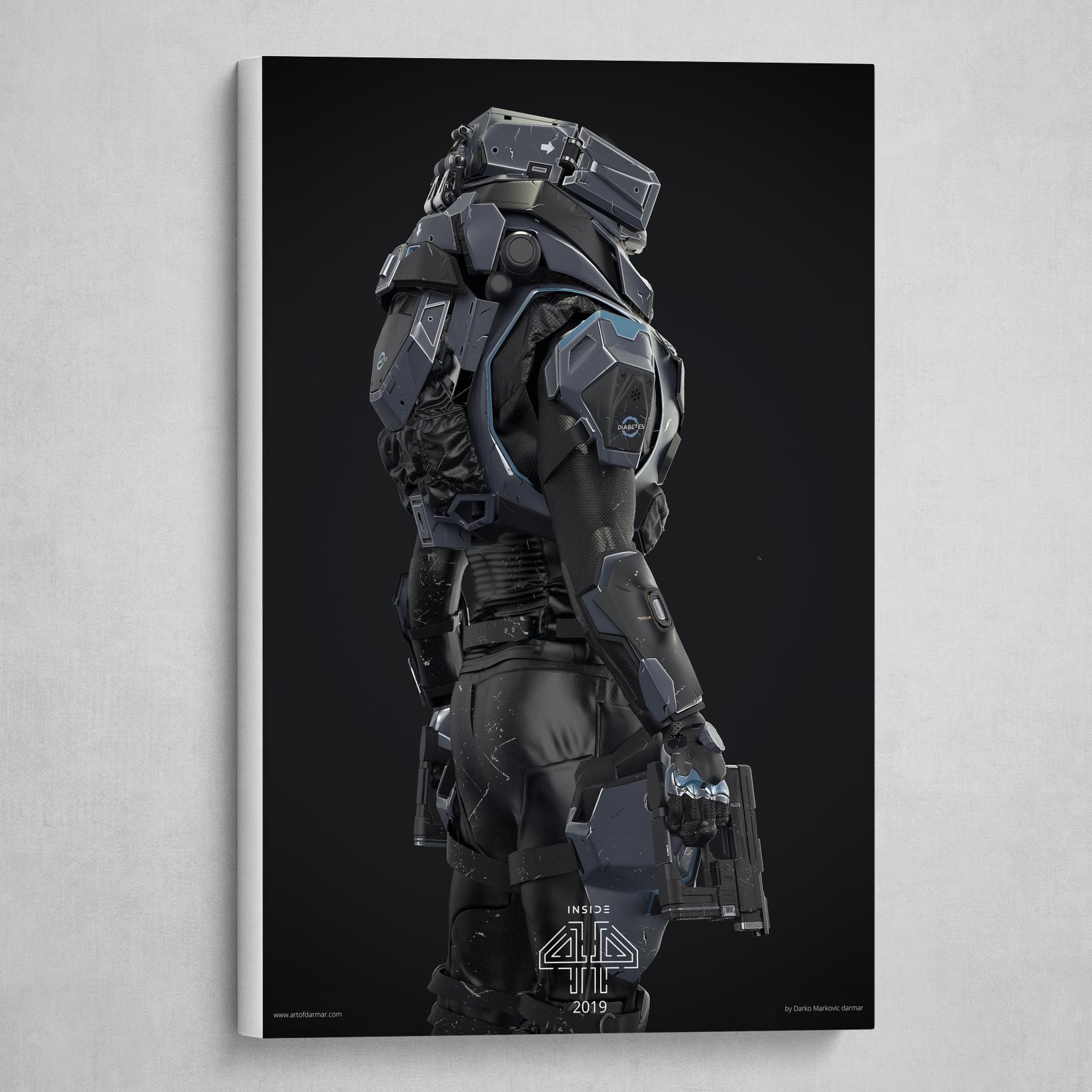 INSIDE 44 - Main Hero print