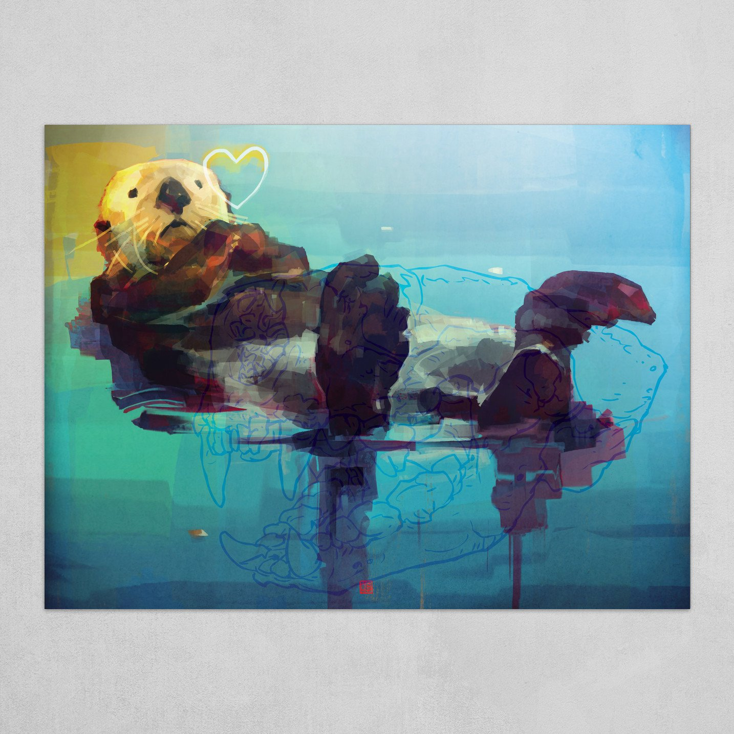 Sea Otter Luv'